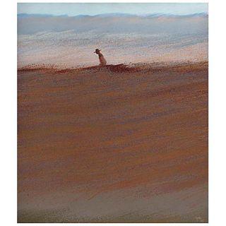RICARDO ROCHA, Apunte al natural, Firmado y fechado 1985 al frente y en bastidor, Óleo sobre tela, 150 x 130 cm, Con constancia | RICARDO ROCHA, Apunt