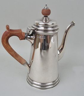 English Sterling Silver Coffee Pot