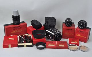Zenza Bronica Model C Camera & Accessories