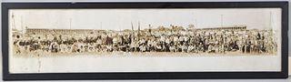 Antique Panoramic Rodeo Photograph