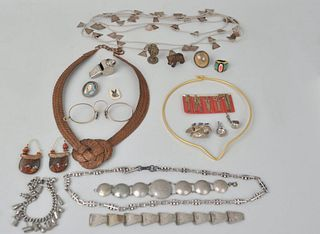 Group Sterling & Other Jewelry