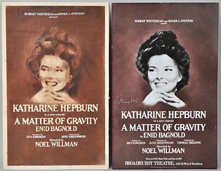 Pair of Katharine Hepburn Posters
