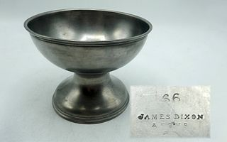 Engraved English Pewter Chalice from Baptist Chapel