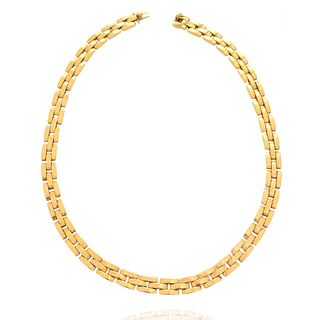Cartier Panther Maillon 18K Necklace
