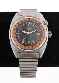 "Glycine 24hr Airman SST ""Pumpkin"" Wrist Watch"