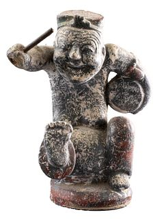 Chinese Han Period Pottery Musician