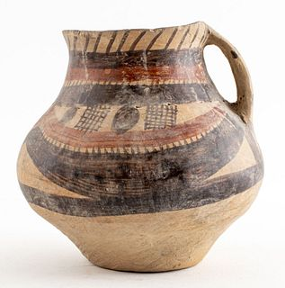 Chinese Neolithic Pottery Kansu Vessel