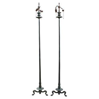 Caldwell Etruscan Revival Grand Tour Lamps