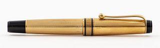 Aurora Oro Massiccio 18k Gold Optima Fountain Pen