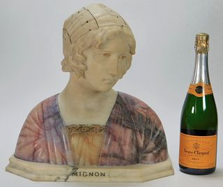 Giuseppe Bessi Mignon Marble Bust