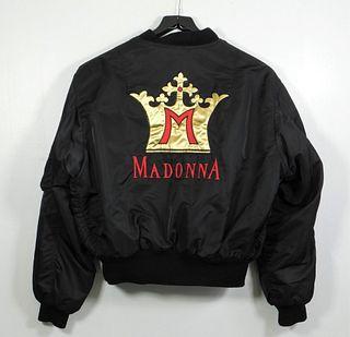 Madonna Blonde Ambition Crew Tour Jacket & Print