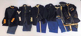 14PC Kentish Guard Military Uniform Collection