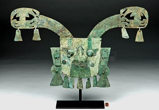 Sican Lambayeque Copper Mask w/ Wings