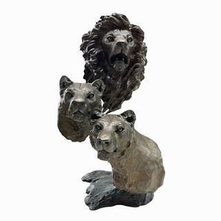 Mark Hopkins Bronze Sculpture
