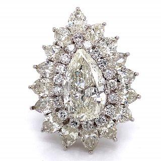 4.14 Ct. Diamond Engagement Ring