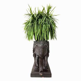 Vintage Elephant Planter