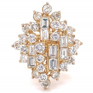 4.00 Ct. Diamond Cocktail Ring