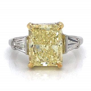 5.09 Ct GIA Certified Diamond Engagement Ring