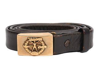 Bob Feller 10K YG Hickok Award Buckle & Belt