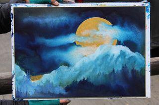 """Kay Stratman - """"Midnight Mountain Moon"""""""