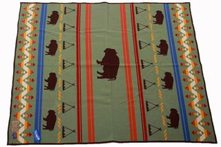 Pendleton Bison Yellowstone Woolen Mills Blanket