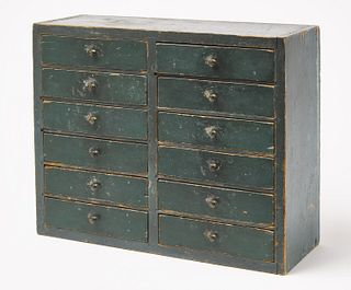 Small 12 Drawer Spice Chest