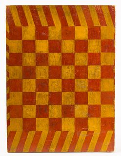 Painted Checker Board