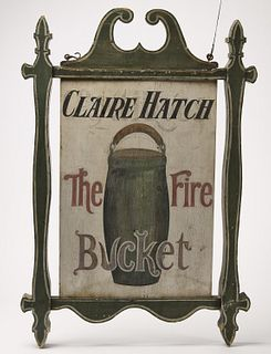 Claire Hatch - The Fire Bucket Inn Sign