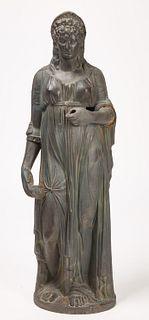 Mott Cast Iron Figure of Columbia