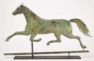 Horse Weathervane - AL Jewell
