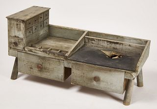 Early New England Cobblers Bench