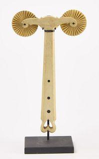 Early Scrimshaw Jagging Wheel