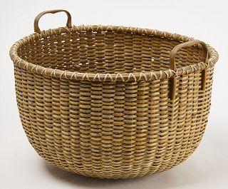 Large Nantucket Basket
