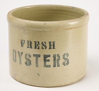 "Stoneware Vessel ""Fresh Oysters"""
