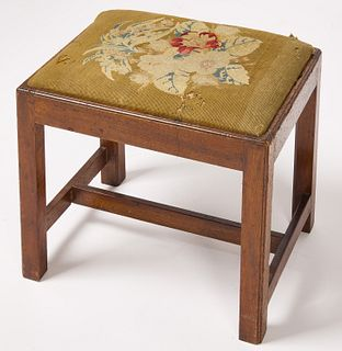 Connecticut Chippendale Footstool