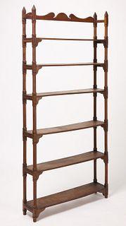 19th Century Standing Shelf