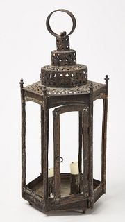 Early Wedding Cake Tin Lantern