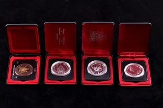 Canadian Silver One Dollar Commemorative Coins