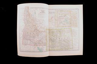 Idaho, Wyoming & Yellowstone National Park Maps