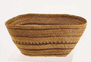 Fine Woven Native American Basket