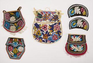 Lot of Native American Beadwork
