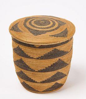 Small Choice Tutsi Basket with Lid