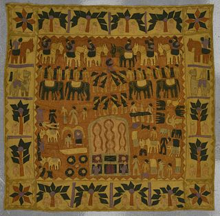 Lot of Old Ethnographic Textiles