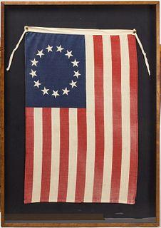 13 Star Naval Flag