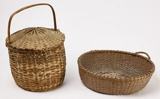 Two Fine Baskets - Feather Basket combined w 215