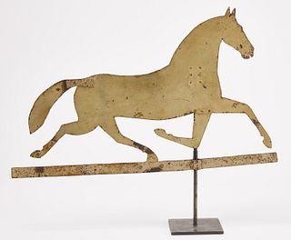Sheet Iron Running Horse Weathervane