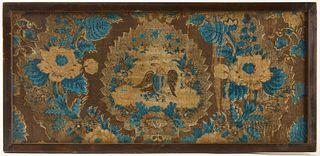 Textile panel circa 1800
