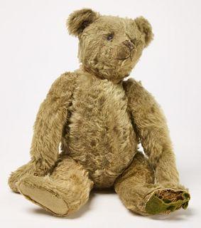 Early Straw Filled Teddy Bear