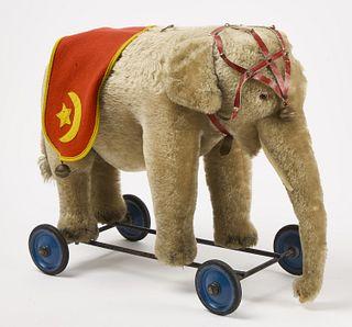 Steiff Elephant Pull Toy