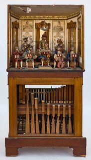 Chamber Barrel Organ - Monkey Orchestra